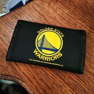 Golden State Warriors Velcro Wallet